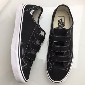 Vans 3 Strap Black White Sneakers Mens